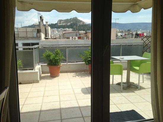 Polis Grand Hotel: our patio