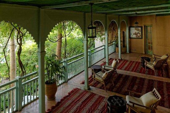 Un Petit Salon Bien Au Calme Photo De Les Jardins De La Medina