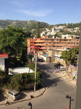 Best Western Premier Petion-Ville: View from my room