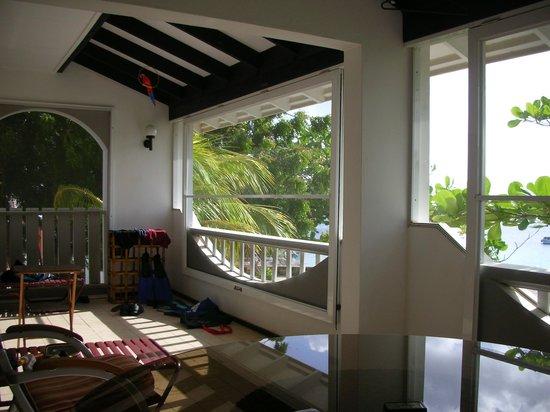 Sand Dollar Condominiums: The porch