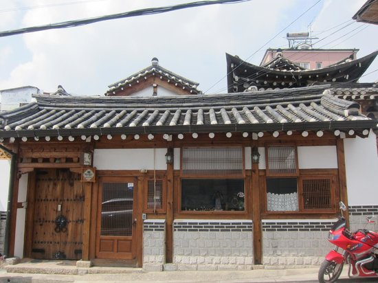 Bukchonmaru Hanok Guesthouse: The Guesthouse Front view