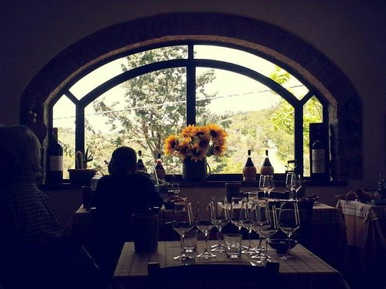 La Grotta della Rana : View from our table