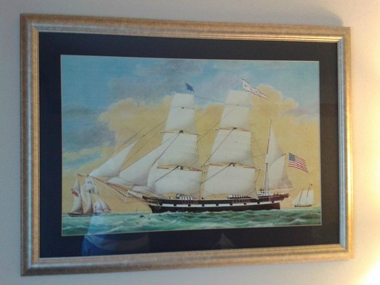 Flagship Inn: Picture on wall