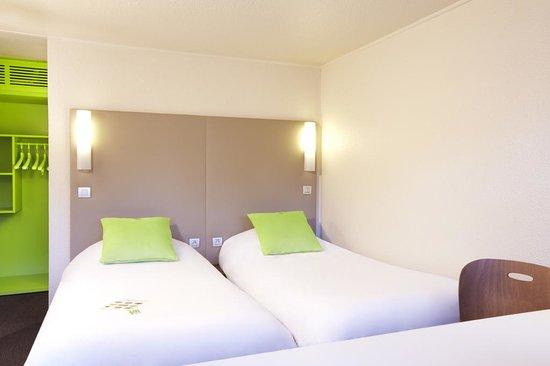 Campanile Bourg En Bresse - Viriat : Chambre deux lits rénovée