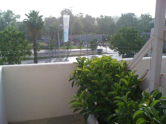 Parthenis Hotel : apartment balcony view