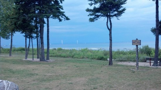 Mackinaw Mill Creek Campground: View