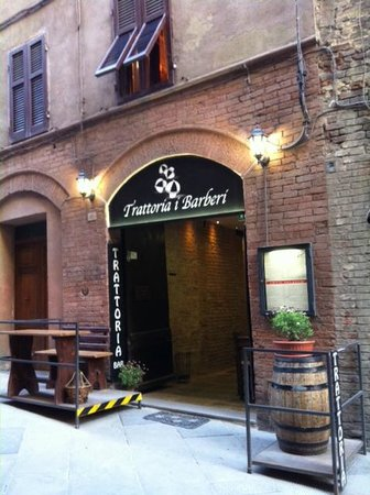 I Barberi: Come in and enjoy!
