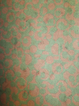 Hotel Bastille: soiled carpet