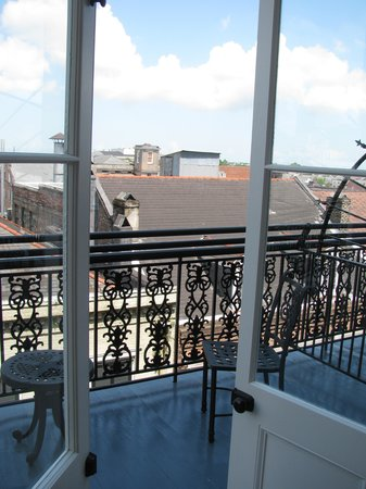 French Doors Open To Balcony Picture Of Omni Royal Orleans New