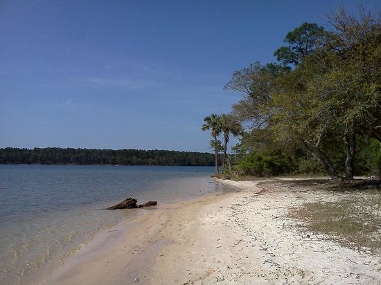 Bayou Grande Villas: Deserted beach less than 1 minute away