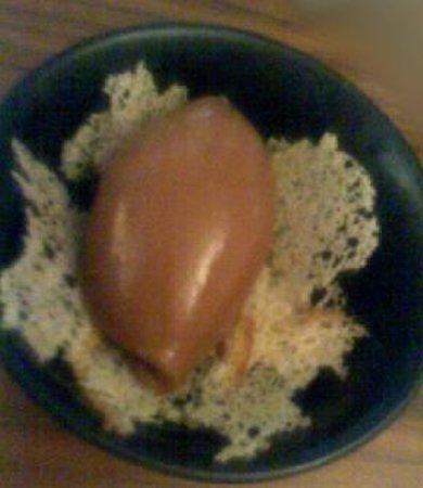 Iberico World Tapas Nottingham : Chocolate sorbet, sourdough crisps