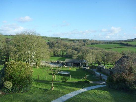 Tregolls Farm Holidays: View from B&B