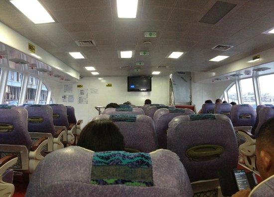 Bohol Island One Day Tour - PTN Travel Corp: Boat to Bohol