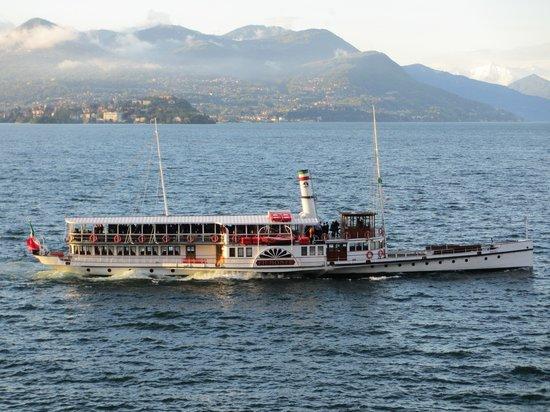"""Il Viaggiatore B&B: """"Piemonte""""  old paddle steamer"""