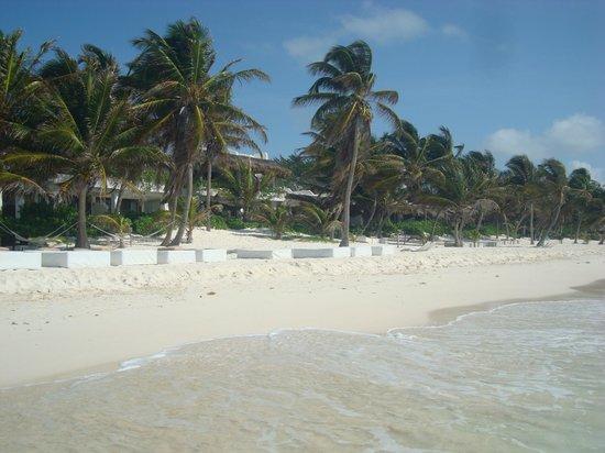 The Beach Tulum: Camas de praia