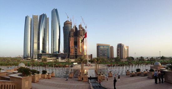 Emirates Palace Hotel: View