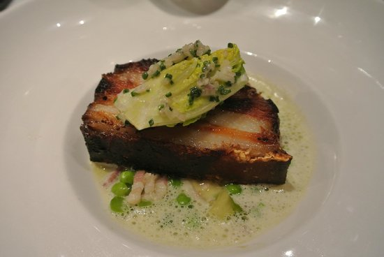 Hotel De Nell: Food in the hotel restaurant
