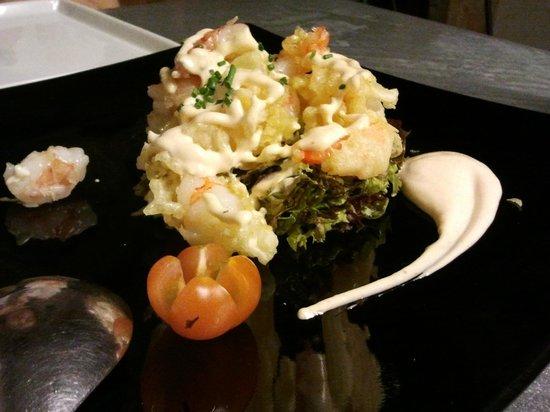 Sukothay: tempura