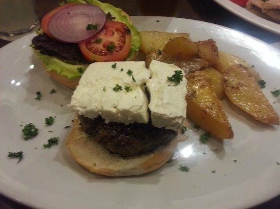 Cyma: Wagyu Burger