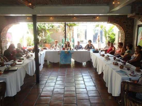 Quinta Don Jose Boutique Hotel: The local Women's Rotary club meets here on Mondays!