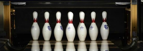 Langford Lanes: Pins are set