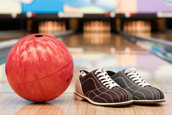 Langford Lanes: Bowling balls and shoes