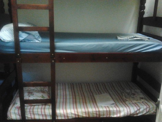 Other Side Hostel: bunks in the dorm- all new