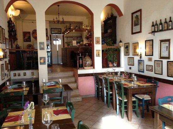 Figline e Incisa Valdarno, Italy: la sala interna
