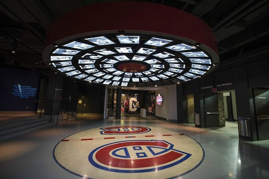 Montreal Canadiens Hall of Fame Entrance