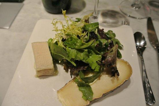 La Regalade Conservatoire: Cheese as dessert!