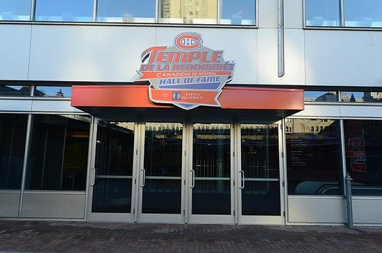 Montreal Canadiens Hall of Fame (street entrance)