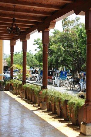 Hotel Plaza Colon: Terrace