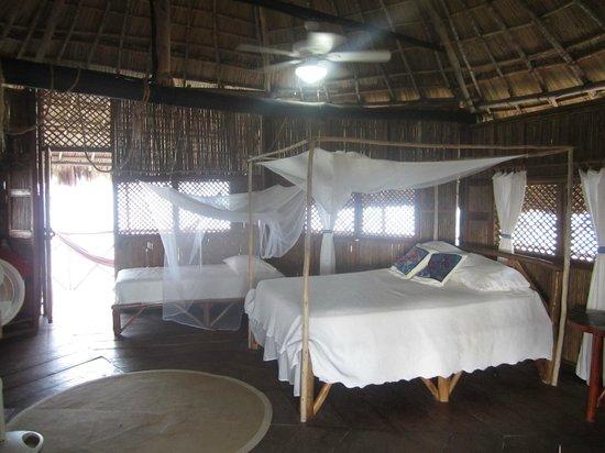Yandup Island Lodge: Bedroom