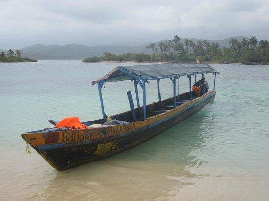 Yandup Island Lodge: Beach day nearby