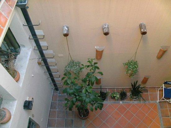 Hostel Sol de Oro: vista aérea del segundo patio