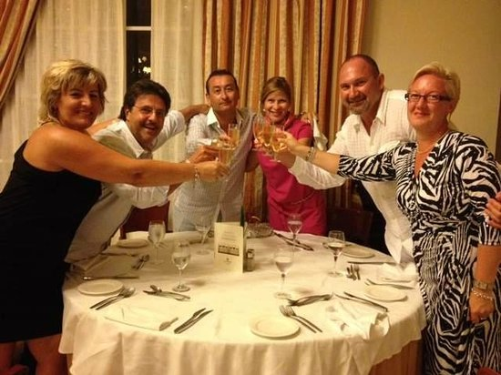 Luxury Bahia Principe Ambar Blue Don Pablo Collection: Anniversary Dinner with Champagne