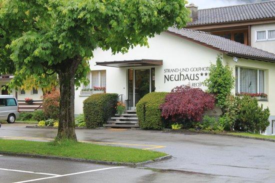 Neuhaus Golf and Strand Hotel: Reception