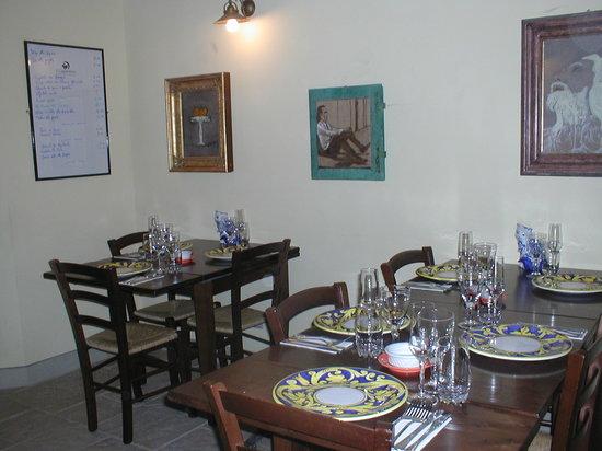 Pieve Santo Stefano, Italien: restaurant