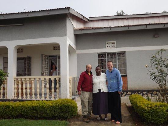 Bahumura Home: Our lovely host!