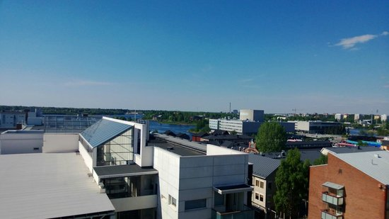 Scandic Oulu: View from a balcony