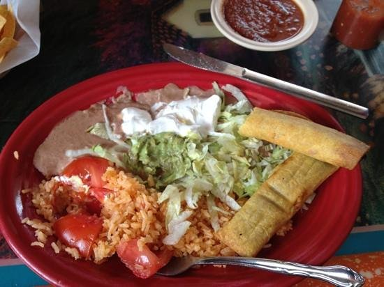 El Maguey Authentic Mexican Food: taquitoes