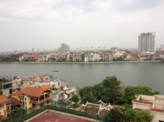 Sheraton Hanoi Hotel: View from the Room -- facing the West Lake