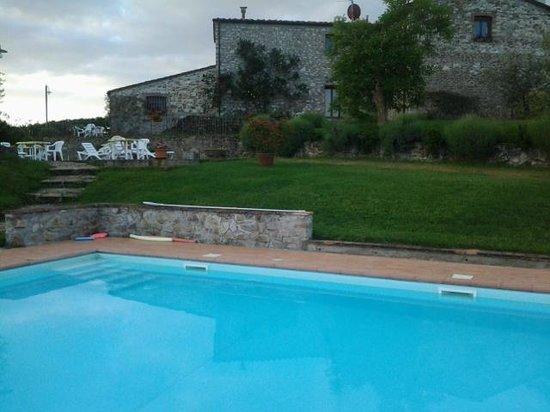 Borgo Sicelle: Piscina