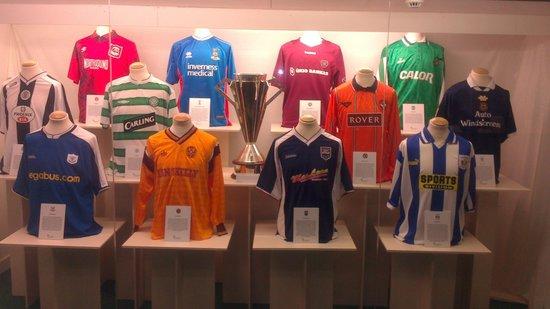 Scottish Football Museum: spl clubs
