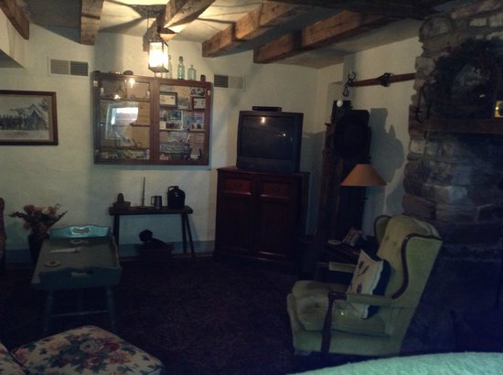 The Lightner Farmhouse: Basement / Sitting area