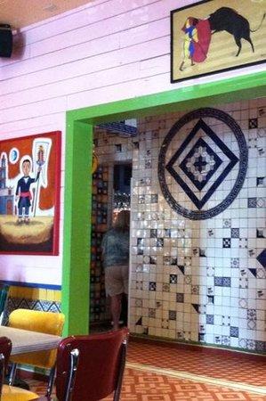 Chuy's: Interesting tile work