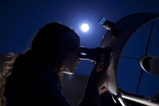 Alto Atacama Desert Lodge & Spa : Telescope