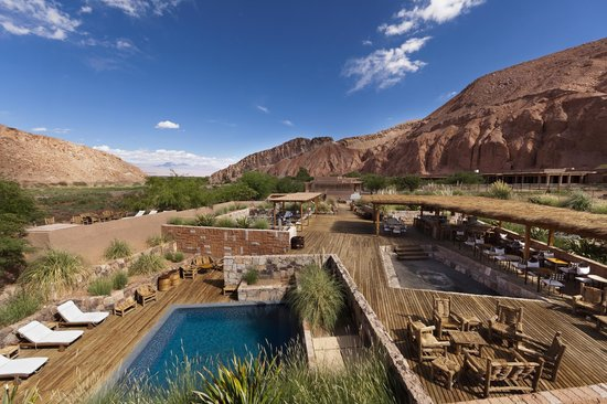 Alto Atacama Desert Lodge & Spa: Pools