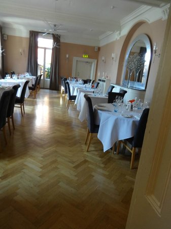 The Bell Hotel: Main dining room, also used for breakfast