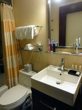 Fairfield Inn & Suites New York Manhattan/Times Square : BANHEIRO SUPER LIMPO E AMPLO